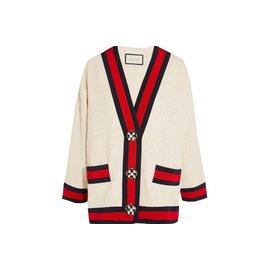 Gucci-Vestes-blanc cassé