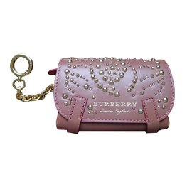 Burberry-Purses, wallets, cases-Pink