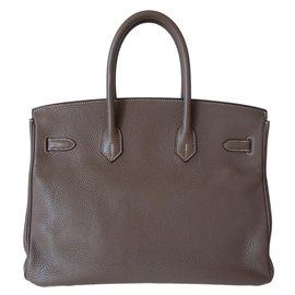 Hermès-Birkin 35 ETOUPE-Gris