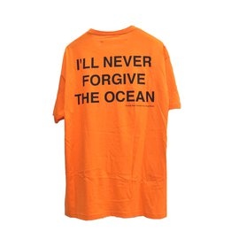 Off White-Tee shirts-Orange