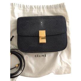Céline-Sacs à main-Gris anthracite