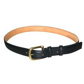 Chloé-Belts-Black
