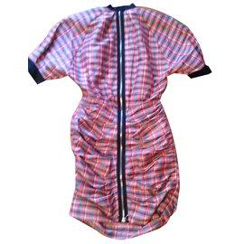 ea9eddb0451bb ... Isabel Marant-Robe Isabel Marant grande ligne-Multicolore