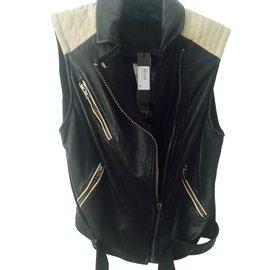 Ikks-Biker jackets-Black