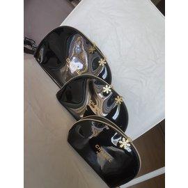 Chanel-Lot de trousses-Noir