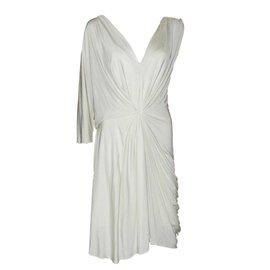 Alberta Ferretti-Dresses-Cream