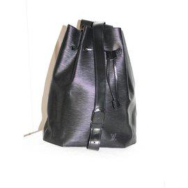 Louis Vuitton-Sac seau d'épaule-Noir