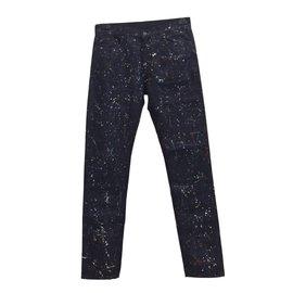 Tomas maier-Jeans homme-Bleu Marine