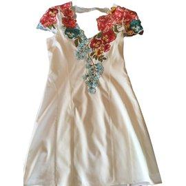 Karen Millen-Dresses-White