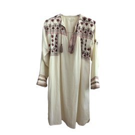 Isabel Marant-Dresses-Cream