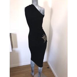 Donna Karan-Dress-Black
