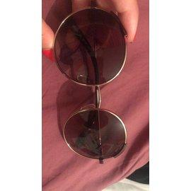 Chloé-Lunettes de soleil-Doré,bronze,marron clair