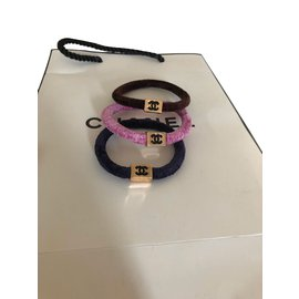 Chanel-Bijoux de tête-Multicolore
