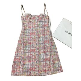 Chanel-Dresses-Pink,White