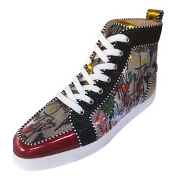 Christian Louboutin-Baskets-Multicolore