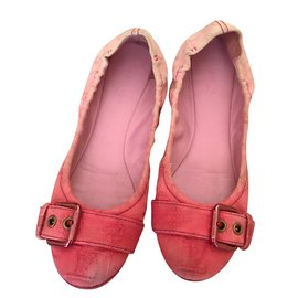Louis Vuitton-Ballerines-Rose