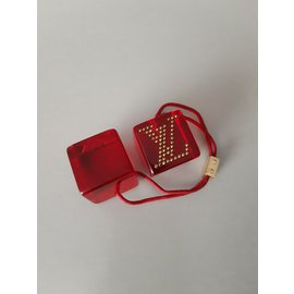 Louis Vuitton-Bijoux de tête-Rouge