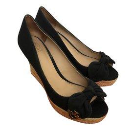 Tory Burch-sandals-Black