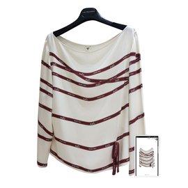 Hermès-Shirt top-Multiple colors