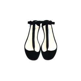 Prada-Sandales-Noir