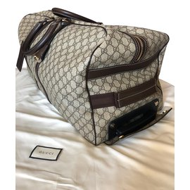 Gucci-Travel bag-Beige
