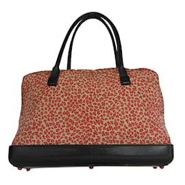 71a3439b441a Bottega Veneta-Leopard Fabric Bag-Leopard print ...