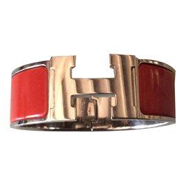 Hermès-Clic Clac H-Rouge