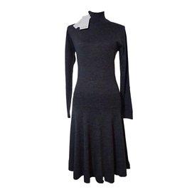 Lacoste-Dresses-Grey