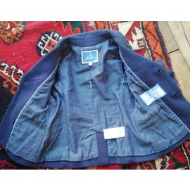 Jacadi-Boy Coats Outerwear-Navy blue