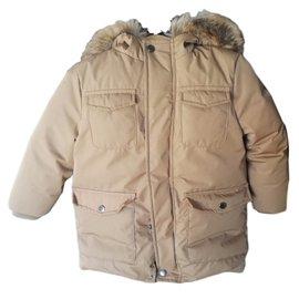 Jacadi-Boy Coats Outerwear-Caramel