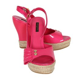 Louis Vuitton-Sandales-Rose