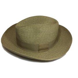 Hermès-Chapeau Panama-Beige