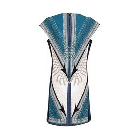 Versace-Robes-Bleu