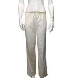 Kenzo-Pantalon large-Blanc