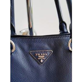 Prada-Sac Shopping-Bleu Marine