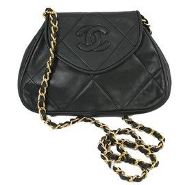 Chanel-Sac à main-Vert