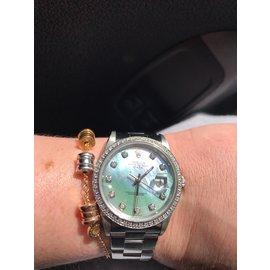 Rolex-Montres-Argenté
