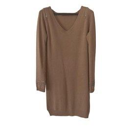 Berenice-Robe pull-Caramel