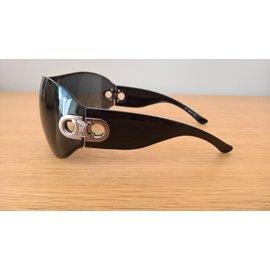 Céline-Lunettes de soleil masque-Noir