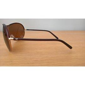 Céline-Lunettes de soleil masque-Caramel
