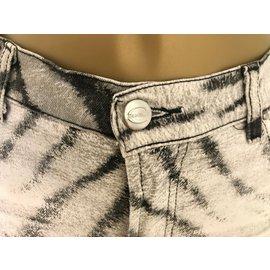 Just Cavalli-Jeans-Noir,Blanc,Gris