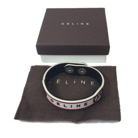 Céline-Bracelet-White,Red,Blue