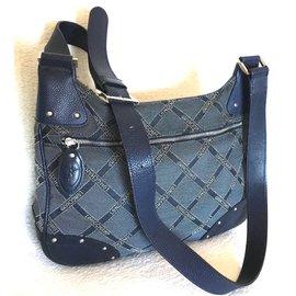 Longchamp-Sacs à main-Bleu Marine