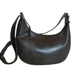Longchamp-Sacs à main-Marron foncé
