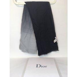 Christian Dior-Etole-Noir,Blanc,Gris