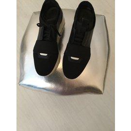 Balenciaga-Superbe basqurtte-Noir,Blanc
