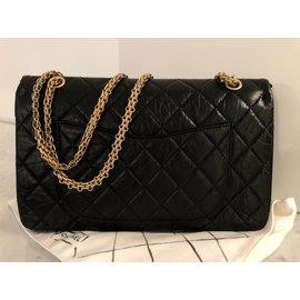 Chanel-Maxi Sac 2.55-Noir