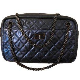 Chanel-Sacs à main-Bleu