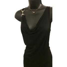 Gucci-Top noir vintage-Noir