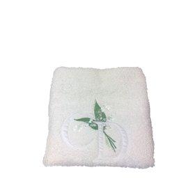 Christian Dior-Petite serviette-Blanc